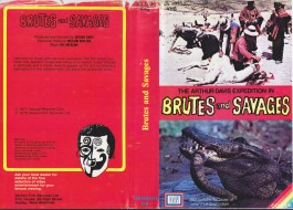 Brutes and Savages vhs