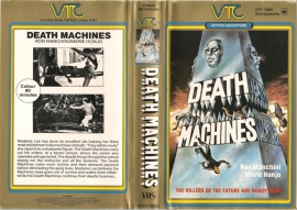 Death Machines VHS