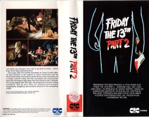 FRIDAY THE 13TH PART 2 PRE CERT