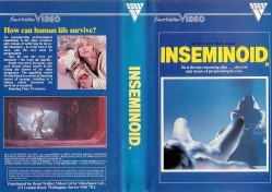 INSEMINOID UNRATED VHS